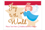 Customize personal or professional projects with pre-designed Religious Angel templates.