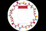 Les gabarits Lumières de Noël pour votre prochain projet des Fêtes Étiquettes Pour Médias - gabarit prédéfini. <br/>Utilisez notre logiciel Avery Design & Print Online pour personnaliser facilement la conception.