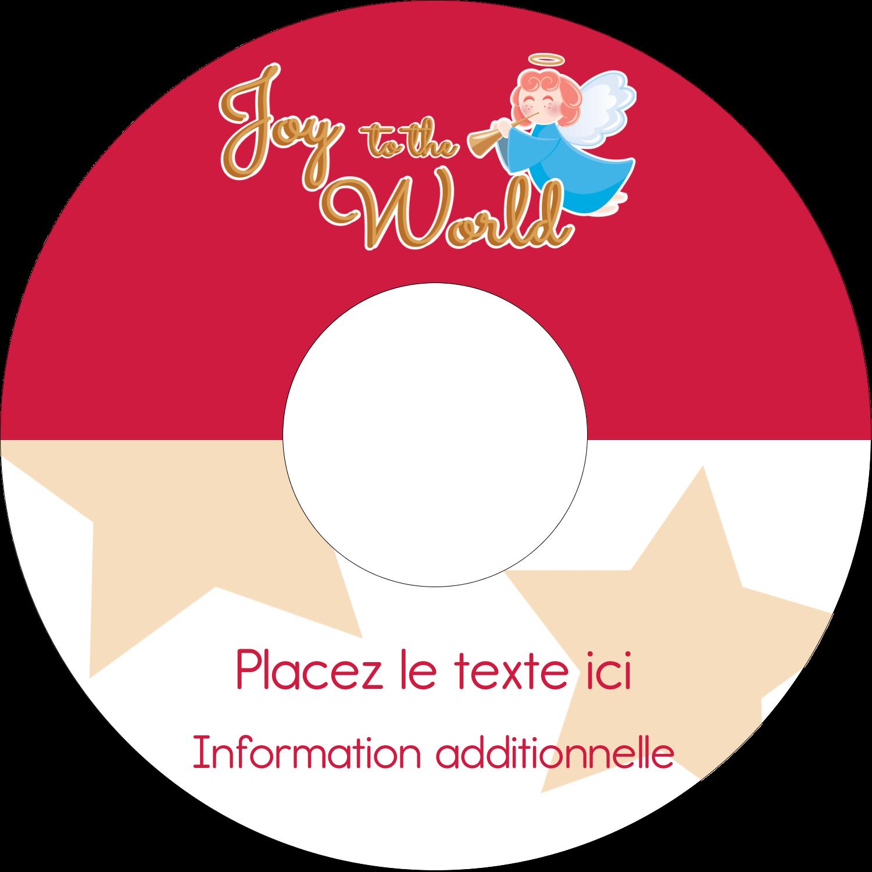 """⅔"""" x 3-7/16"""" Étiquettes de classement - Ange pieux"""
