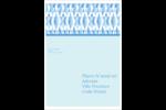 Hanoukka géométrique Étiquettes D'Adresse - gabarit prédéfini. <br/>Utilisez notre logiciel Avery Design & Print Online pour personnaliser facilement la conception.