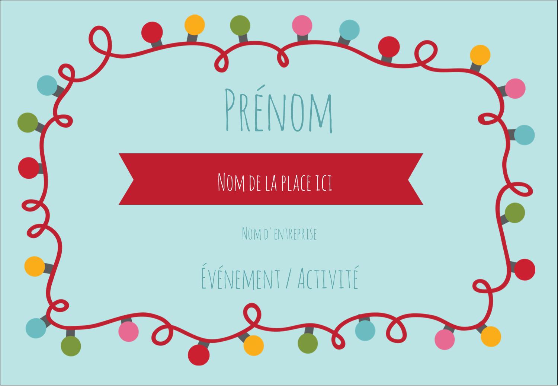 """1¼"""" Étiquettes à codage couleur - Les gabarits Lumières de Noël pour votre prochain projet des Fêtes"""