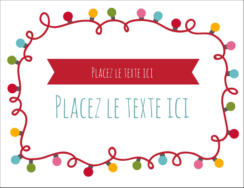 """8½"""" x 11"""" Cartes Et Articles D'Artisanat Imprimables - Les gabarits Lumières de Noël pour votre prochain projet des Fêtes"""