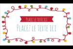 Les gabarits Lumières de Noël pour votre prochain projet des Fêtes Carte d'affaire - gabarit prédéfini. <br/>Utilisez notre logiciel Avery Design & Print Online pour personnaliser facilement la conception.