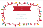 Les gabarits Lumières de Noël pour votre prochain projet des Fêtes Étiquettes d'adresse - gabarit prédéfini. <br/>Utilisez notre logiciel Avery Design & Print Online pour personnaliser facilement la conception.
