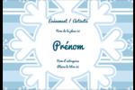Les gabarits Flocon de neige bleu pour votre prochain projet des Fêtes Étiquettes à codage couleur - gabarit prédéfini. <br/>Utilisez notre logiciel Avery Design & Print Online pour personnaliser facilement la conception.