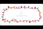 Les gabarits Lumières de Noël pour votre prochain projet des Fêtes Étiquettes de classement écologiques - gabarit prédéfini. <br/>Utilisez notre logiciel Avery Design & Print Online pour personnaliser facilement la conception.