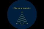 Noël HanouNoël Étiquettes Voyantes - gabarit prédéfini. <br/>Utilisez notre logiciel Avery Design & Print Online pour personnaliser facilement la conception.