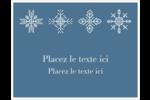 Les gabarits Flocons de neige pour votre prochain projet des Fêtes Cartes Et Articles D'Artisanat Imprimables - gabarit prédéfini. <br/>Utilisez notre logiciel Avery Design & Print Online pour personnaliser facilement la conception.