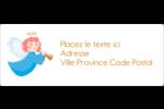 Ange pieux Étiquettes d'adresse - gabarit prédéfini. <br/>Utilisez notre logiciel Avery Design & Print Online pour personnaliser facilement la conception.