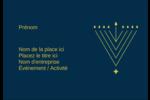 Hanoukka HanouNoël Étiquettes à codage couleur - gabarit prédéfini. <br/>Utilisez notre logiciel Avery Design & Print Online pour personnaliser facilement la conception.