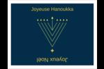 Hanoukka HanouNoël Cartes Et Articles D'Artisanat Imprimables - gabarit prédéfini. <br/>Utilisez notre logiciel Avery Design & Print Online pour personnaliser facilement la conception.