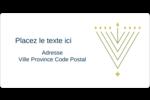 Hanoukka HanouNoël Étiquettes de classement écologiques - gabarit prédéfini. <br/>Utilisez notre logiciel Avery Design & Print Online pour personnaliser facilement la conception.