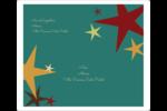 Étoiles du Nouvel An Étiquettes D'Adresse - gabarit prédéfini. <br/>Utilisez notre logiciel Avery Design & Print Online pour personnaliser facilement la conception.