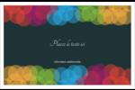 Lumières du Nouvel An  Cartes de souhaits pliées en deux - gabarit prédéfini. <br/>Utilisez notre logiciel Avery Design & Print Online pour personnaliser facilement la conception.