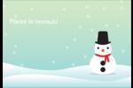 Petit bonhomme de neige Étiquettes à codage couleur - gabarit prédéfini. <br/>Utilisez notre logiciel Avery Design & Print Online pour personnaliser facilement la conception.