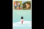 Petit bonhomme de neige Reliures - gabarit prédéfini. <br/>Utilisez notre logiciel Avery Design & Print Online pour personnaliser facilement la conception.