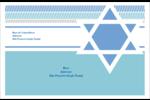 Étoile de Hanoukka Étiquettes d'expédition - gabarit prédéfini. <br/>Utilisez notre logiciel Avery Design & Print Online pour personnaliser facilement la conception.