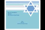 Étoile de Hanoukka Étiquettes D'Adresse - gabarit prédéfini. <br/>Utilisez notre logiciel Avery Design & Print Online pour personnaliser facilement la conception.