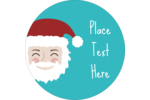 For an extra dose of jolly, choose pre-designed Santa templates for your custom project.