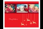 Décor de renne Cartes Et Articles D'Artisanat Imprimables - gabarit prédéfini. <br/>Utilisez notre logiciel Avery Design & Print Online pour personnaliser facilement la conception.