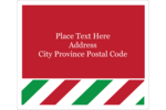 Make custom projects superbly festive with pre-designed Red Green Stripes templates.