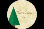 Arbres en forêt Étiquettes Voyantes - gabarit prédéfini. <br/>Utilisez notre logiciel Avery Design & Print Online pour personnaliser facilement la conception.