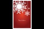 Les gabarits Flocons de neige en feutre pour votre prochain projet des Fêtes Reliures - gabarit prédéfini. <br/>Utilisez notre logiciel Avery Design & Print Online pour personnaliser facilement la conception.