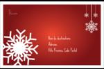 Les gabarits Flocons de neige en feutre pour votre prochain projet des Fêtes Étiquettes d'expédition - gabarit prédéfini. <br/>Utilisez notre logiciel Avery Design & Print Online pour personnaliser facilement la conception.