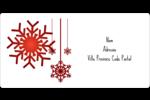 Les gabarits Flocons de neige en feutre pour votre prochain projet des Fêtes Étiquettes de classement écologiques - gabarit prédéfini. <br/>Utilisez notre logiciel Avery Design & Print Online pour personnaliser facilement la conception.