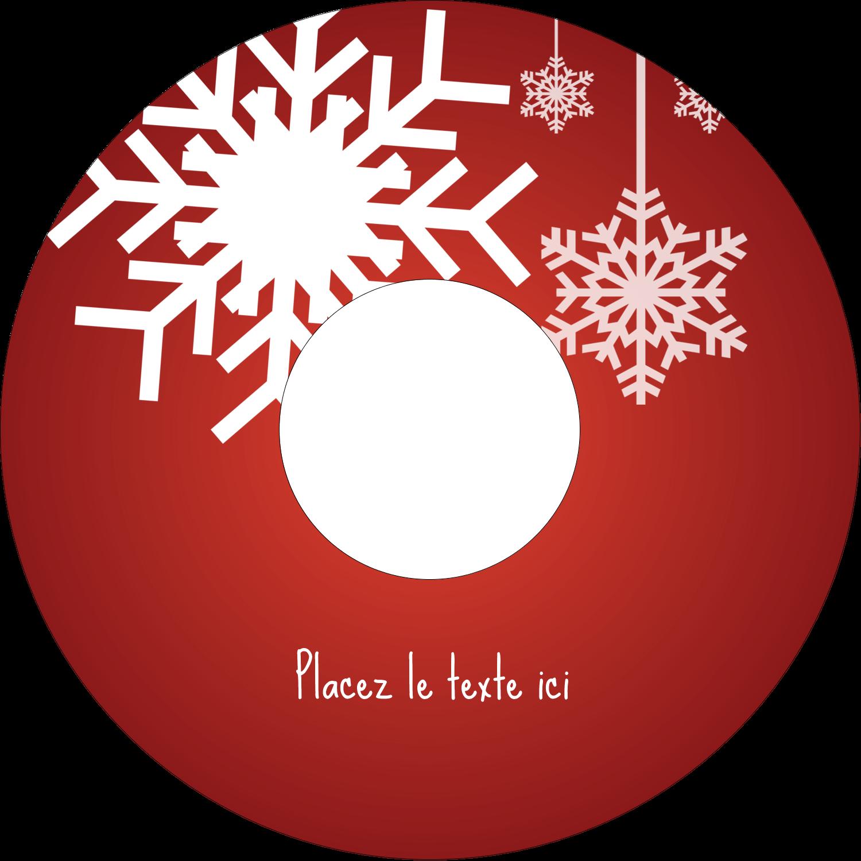 """⅔"""" x 3-7/16"""" Étiquettes de classement - Les gabarits Flocons de neige en feutre pour votre prochain projet des Fêtes"""