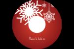 Les gabarits Flocons de neige en feutre pour votre prochain projet des Fêtes Étiquettes de classement - gabarit prédéfini. <br/>Utilisez notre logiciel Avery Design & Print Online pour personnaliser facilement la conception.
