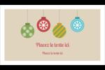 Les gabarits Boules décoratives artisanales pour votre prochain projet des Fêtes Carte d'affaire - gabarit prédéfini. <br/>Utilisez notre logiciel Avery Design & Print Online pour personnaliser facilement la conception.
