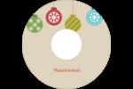 Les gabarits Boules décoratives artisanales pour votre prochain projet des Fêtes Étiquettes Pour Médias - gabarit prédéfini. <br/>Utilisez notre logiciel Avery Design & Print Online pour personnaliser facilement la conception.
