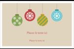 Les gabarits Boules décoratives artisanales pour votre prochain projet des Fêtes Cartes de souhaits pliées en deux - gabarit prédéfini. <br/>Utilisez notre logiciel Avery Design & Print Online pour personnaliser facilement la conception.