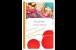 Boules de Noël Cartes Et Articles D'Artisanat Imprimables - gabarit prédéfini. <br/>Utilisez notre logiciel Avery Design & Print Online pour personnaliser facilement la conception.
