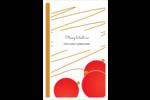 Boules de Noël Reliures - gabarit prédéfini. <br/>Utilisez notre logiciel Avery Design & Print Online pour personnaliser facilement la conception.