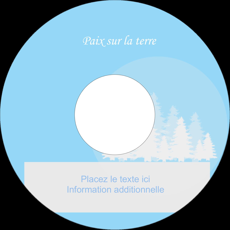"""⅔"""" x 3-7/16"""" Étiquettes de classement - Forêt bleue"""