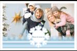 Les gabarits Flocon de neige bleu pour votre prochain projet des Fêtes Cartes de souhaits pliées en deux - gabarit prédéfini. <br/>Utilisez notre logiciel Avery Design & Print Online pour personnaliser facilement la conception.