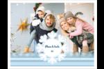 Les gabarits Flocon de neige bleu pour votre prochain projet des Fêtes Cartes Et Articles D'Artisanat Imprimables - gabarit prédéfini. <br/>Utilisez notre logiciel Avery Design & Print Online pour personnaliser facilement la conception.