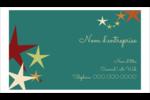 Étoiles du Nouvel An Carte d'affaire - gabarit prédéfini. <br/>Utilisez notre logiciel Avery Design & Print Online pour personnaliser facilement la conception.