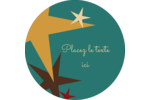 Étoiles du Nouvel An Étiquettes Voyantes - gabarit prédéfini. <br/>Utilisez notre logiciel Avery Design & Print Online pour personnaliser facilement la conception.