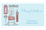 Les gabarits Fêtes à Londres pour votre prochain projet Carte d'affaire - gabarit prédéfini. <br/>Utilisez notre logiciel Avery Design & Print Online pour personnaliser facilement la conception.