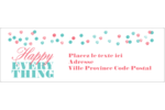 Les gabarits Happy Everything pour votre prochain projet Intercalaires / Onglets - gabarit prédéfini. <br/>Utilisez notre logiciel Avery Design & Print Online pour personnaliser facilement la conception.