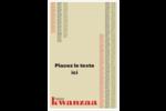 Les gabarits Kwanzaa pour votre prochain projet des Fêtes Cartes Et Articles D'Artisanat Imprimables - gabarit prédéfini. <br/>Utilisez notre logiciel Avery Design & Print Online pour personnaliser facilement la conception.