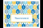 Toupie de Hanoukka Cartes Et Articles D'Artisanat Imprimables - gabarit prédéfini. <br/>Utilisez notre logiciel Avery Design & Print Online pour personnaliser facilement la conception.