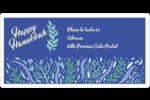Hanoukka florale Étiquettes de classement écologiques - gabarit prédéfini. <br/>Utilisez notre logiciel Avery Design & Print Online pour personnaliser facilement la conception.