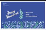Hanoukka florale Étiquettes d'expédition - gabarit prédéfini. <br/>Utilisez notre logiciel Avery Design & Print Online pour personnaliser facilement la conception.