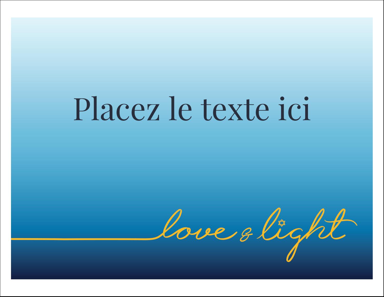 """8½"""" x 11"""" Cartes Et Articles D'Artisanat Imprimables - Hanoukka minimaliste"""