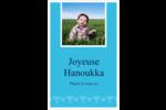Chandelier de Hanoukka Reliures - gabarit prédéfini. <br/>Utilisez notre logiciel Avery Design & Print Online pour personnaliser facilement la conception.