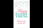 Les gabarits Happy Everything pour votre prochain projet Carte d'affaire - gabarit prédéfini. <br/>Utilisez notre logiciel Avery Design & Print Online pour personnaliser facilement la conception.